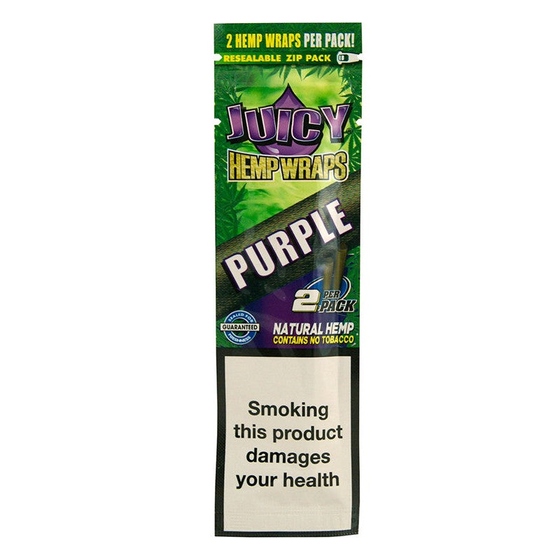 Juicy Jay's Hemp Wraps Blunt Purple 25pk
