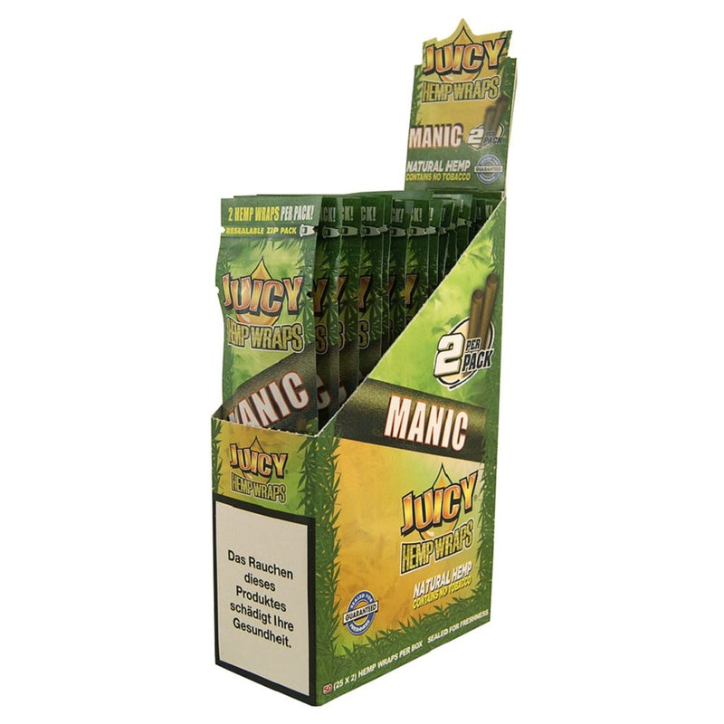 Juicy Jay's Hemp Wraps Blunt Manic 25pk