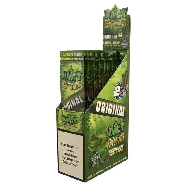 Juicy Jay's Hemp Wraps Blunt Original 25pk