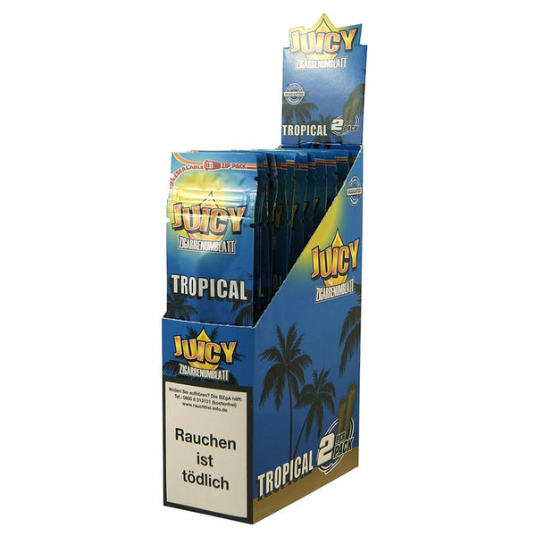 Juicy Jay's Zigarrenumblatt Tropical Wraps 25pk