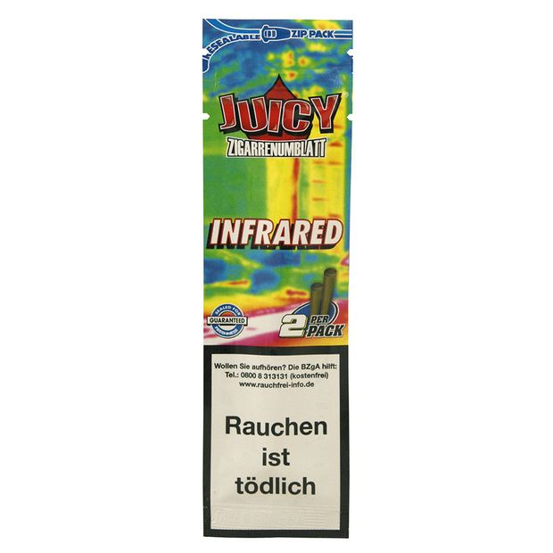 Juicy Jay's Zigarrenumblatt Infrared Wraps 25pk