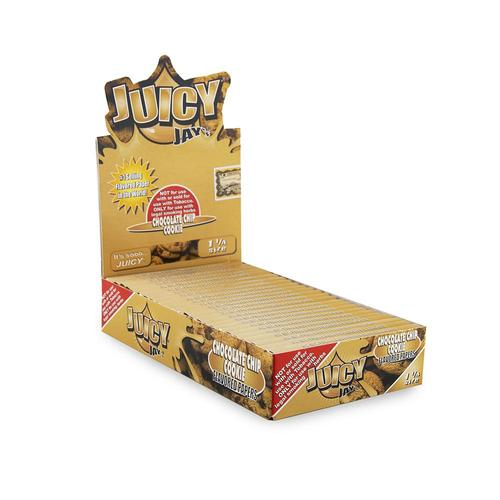 Juicy Jay's 1 ¼ Size Choc Chip Cookie Hemp Papers 24pk