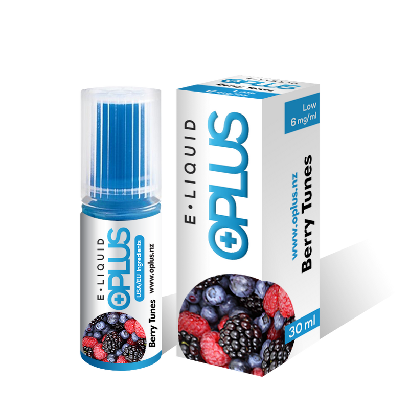 OPLUS E LIQUID BERRY TUNES FLAVOR 30ML 10 Bottles