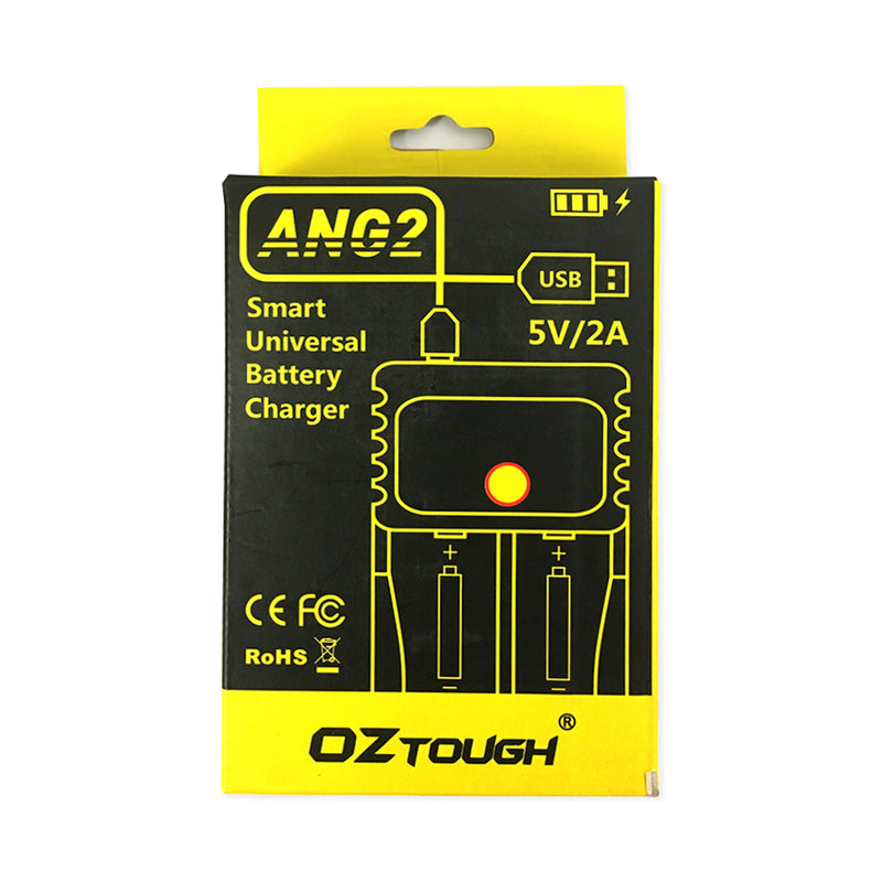 OZTOUGH AN2 Smart Universal Battery Charger 5V/2A