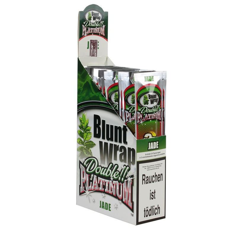 Platinum Double Blunt Wrap Jade 50 Blunts