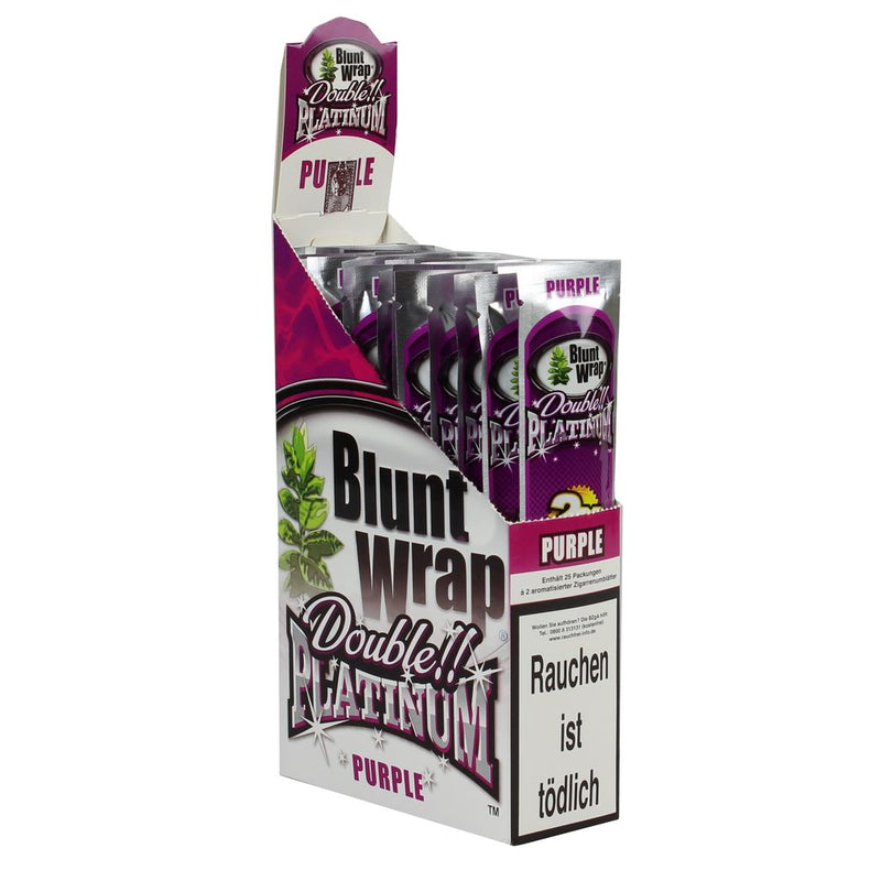 Platinum Double Blunt Wrap Purple 50 Blunts
