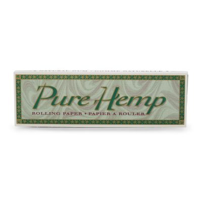 Pure Hemp Single Rolling Papers 50pk