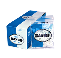RANCH Extra Long Supa Slims 80 Filter Tips