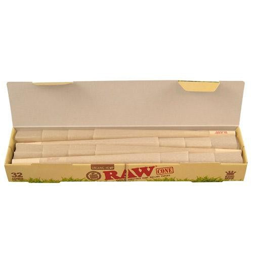 Raw Cones Organic King Size 1pk