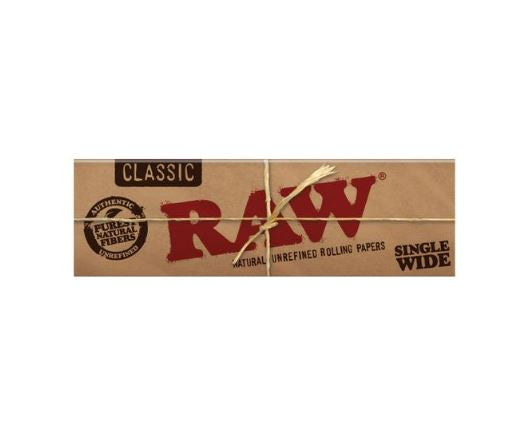 Raw Classic Single Wide Papers 50