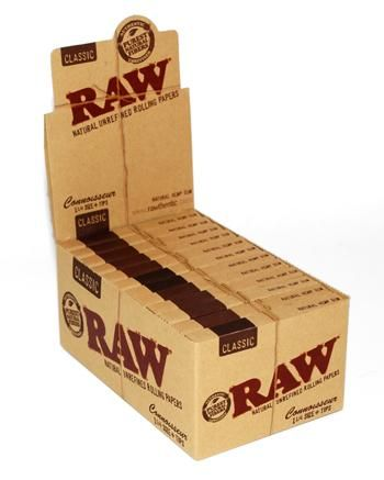 Raw Classic 1 1/4 Size Papers with Tips 24