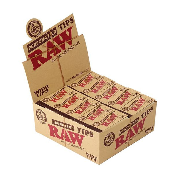 Raw Perforated Tips Wide 50