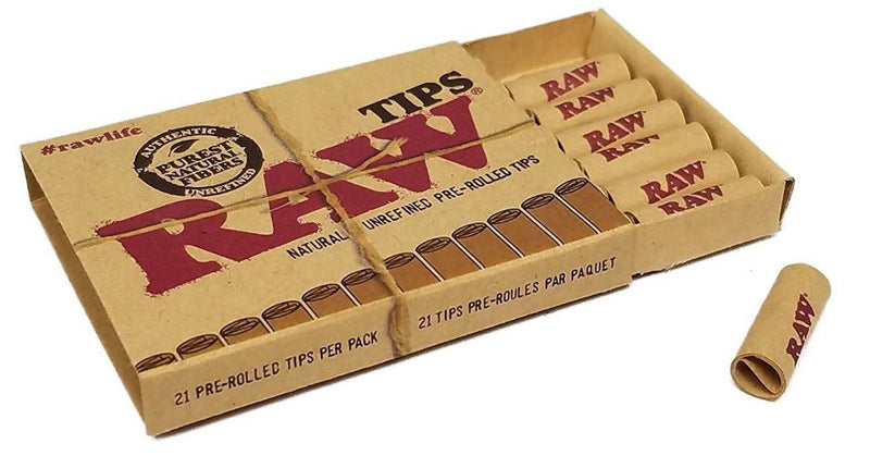 Raw Pre Rolled Tips 20
