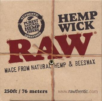 Raw Hemp Wick Ball - 250ft