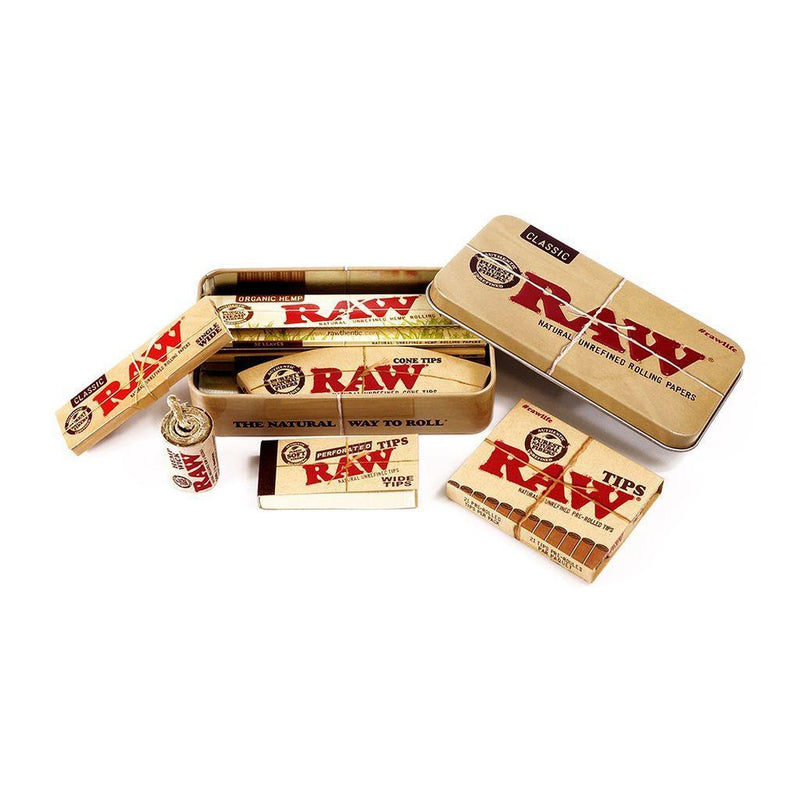 RAW STARTER BOX CLASSIC - Cig Corp Wholesalers