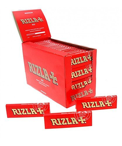 RIZLA RED REGULAR SIZE 100 BOOKLETS