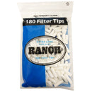 RANCH EXTRA LONG SUPA SLIM FILTER TIPS 180 PCS X 24 PACKS