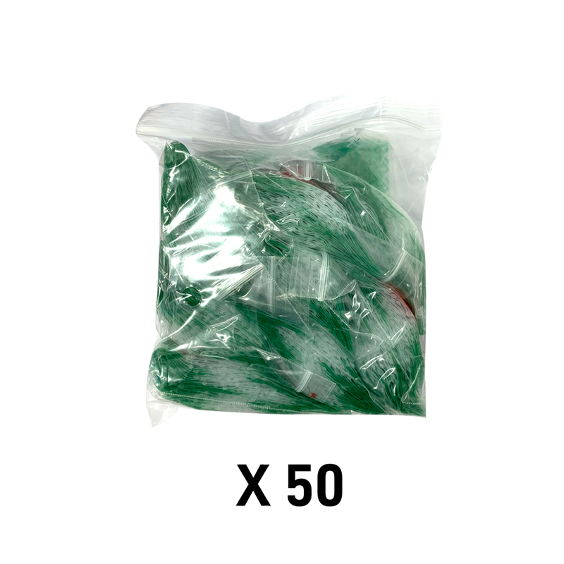 1000 Apple1010 Resealable Plastic Bags 25 x 25mm Leaf - Cig Corp Wholesalers