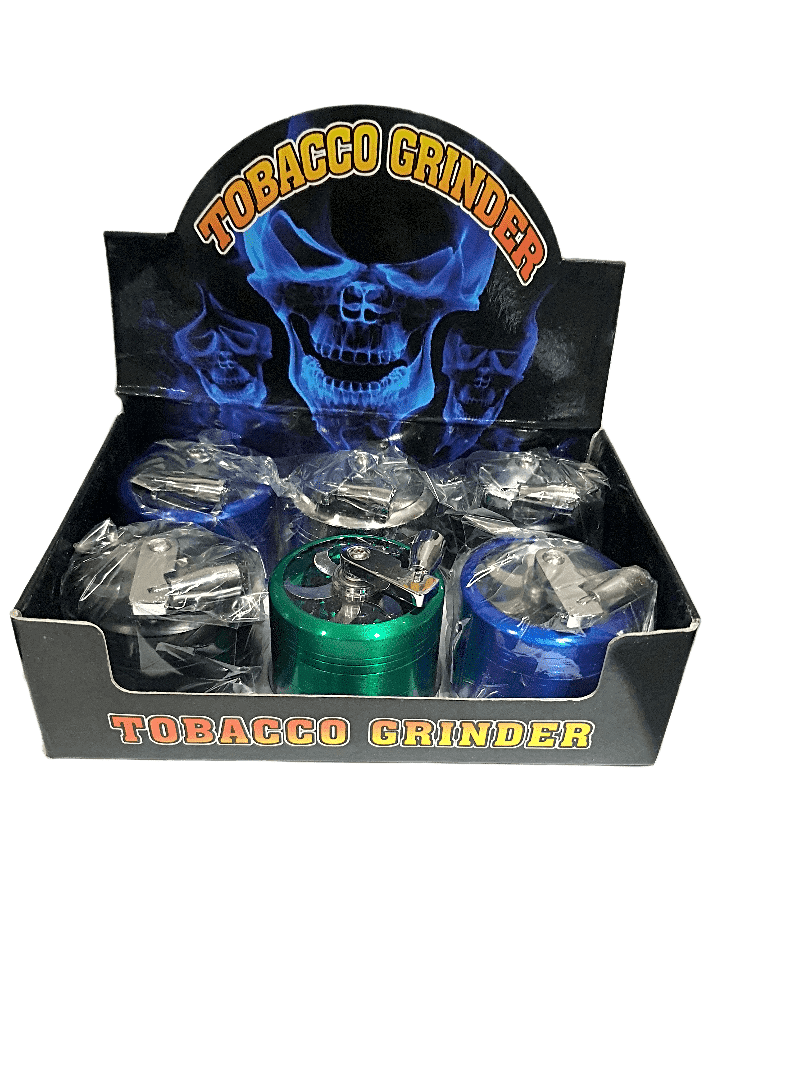 4-Layers Herb Grinder Spice Tobacco 6pcs - Cig Corp Wholesalers