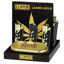 CLIPPER METAL LIGHTER LEAVES GOLD