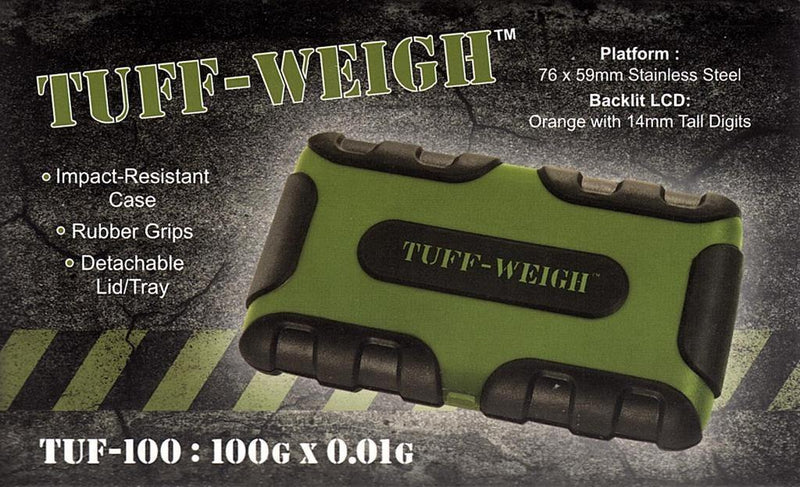 ON BALANCE TUFF-WEIGH SCALE ( 100G X 0.01G ) - Cig Corp Wholesalers