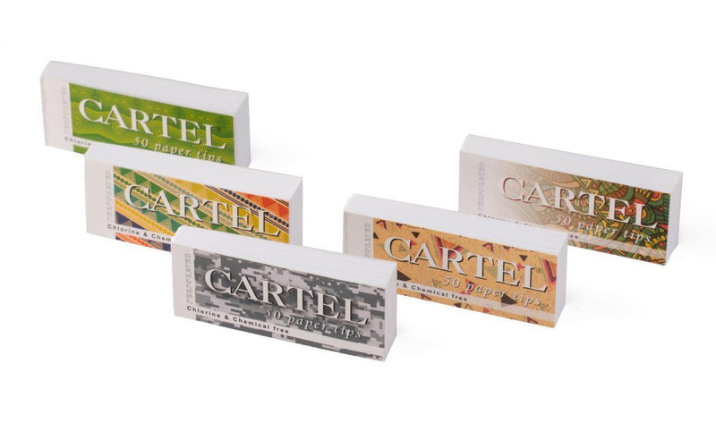 CARTEL Paper Tips Perforated - Cig Corp Wholesalers