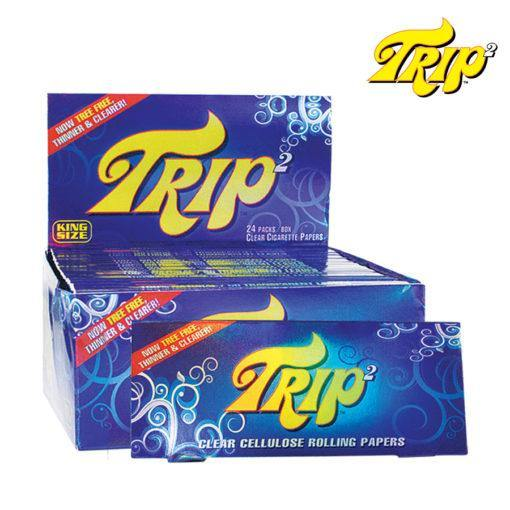 TRIP 2 CLEAR KING SIZE - Cig Corp Wholesalers