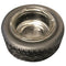 Wheel Glass Ashtray D:14CM