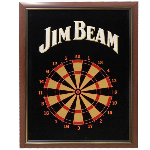 JIM BEAM DART GAME BOARD 75 x 58CM