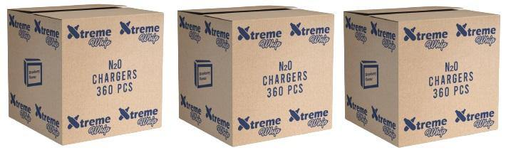 XTREME WHIP CREAM CHARGERS PK 10 (MINT)