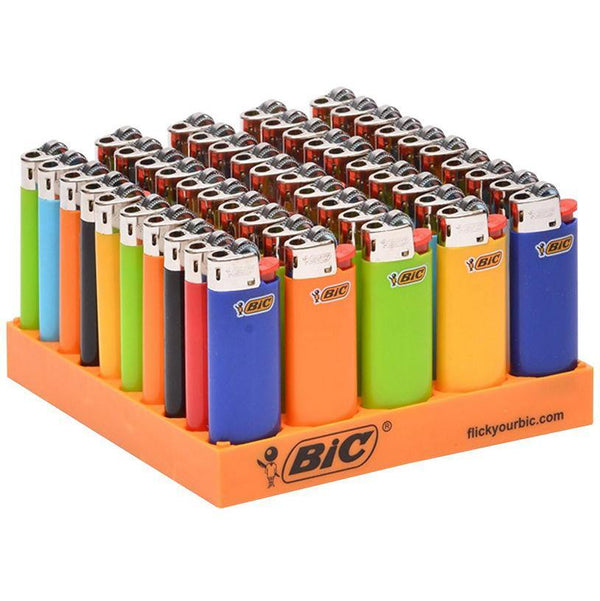 BIC LIGHTERS J25 50pcs MINI