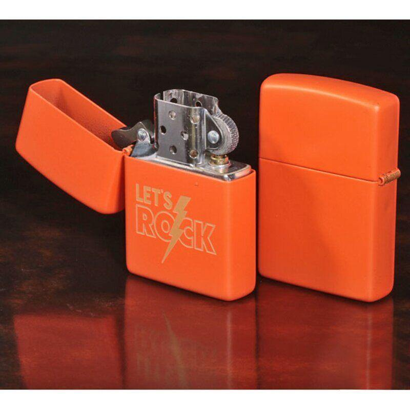 Zippo Lighter Lets Rock Design - Cig Corp Wholesalers