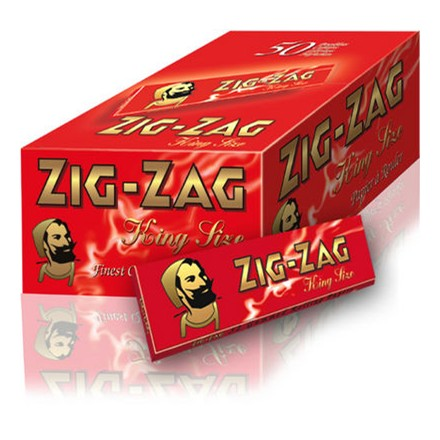 ZIG ZAG KING SIZE RED - 50 PACK