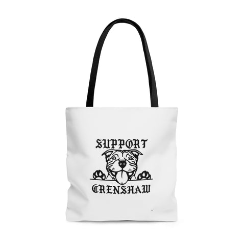 SUPPORT CRENSHAW tote bag