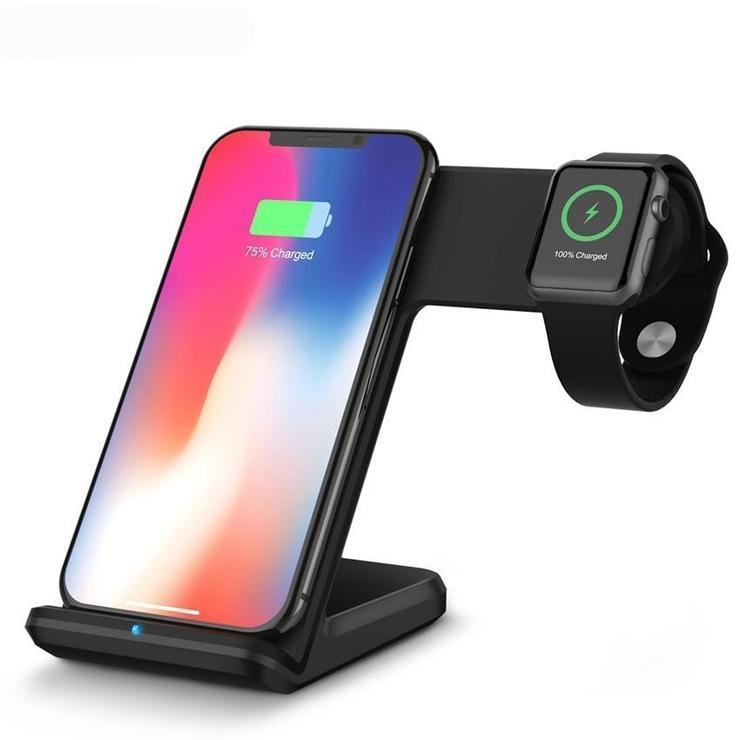 2 in 1 Wireless Charger Pad Hot Sale