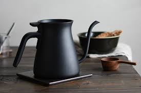 KINTO Matt Black Pour Over Kettle