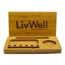 Load image into Gallery viewer, LivWell Wooden Rolling Tray