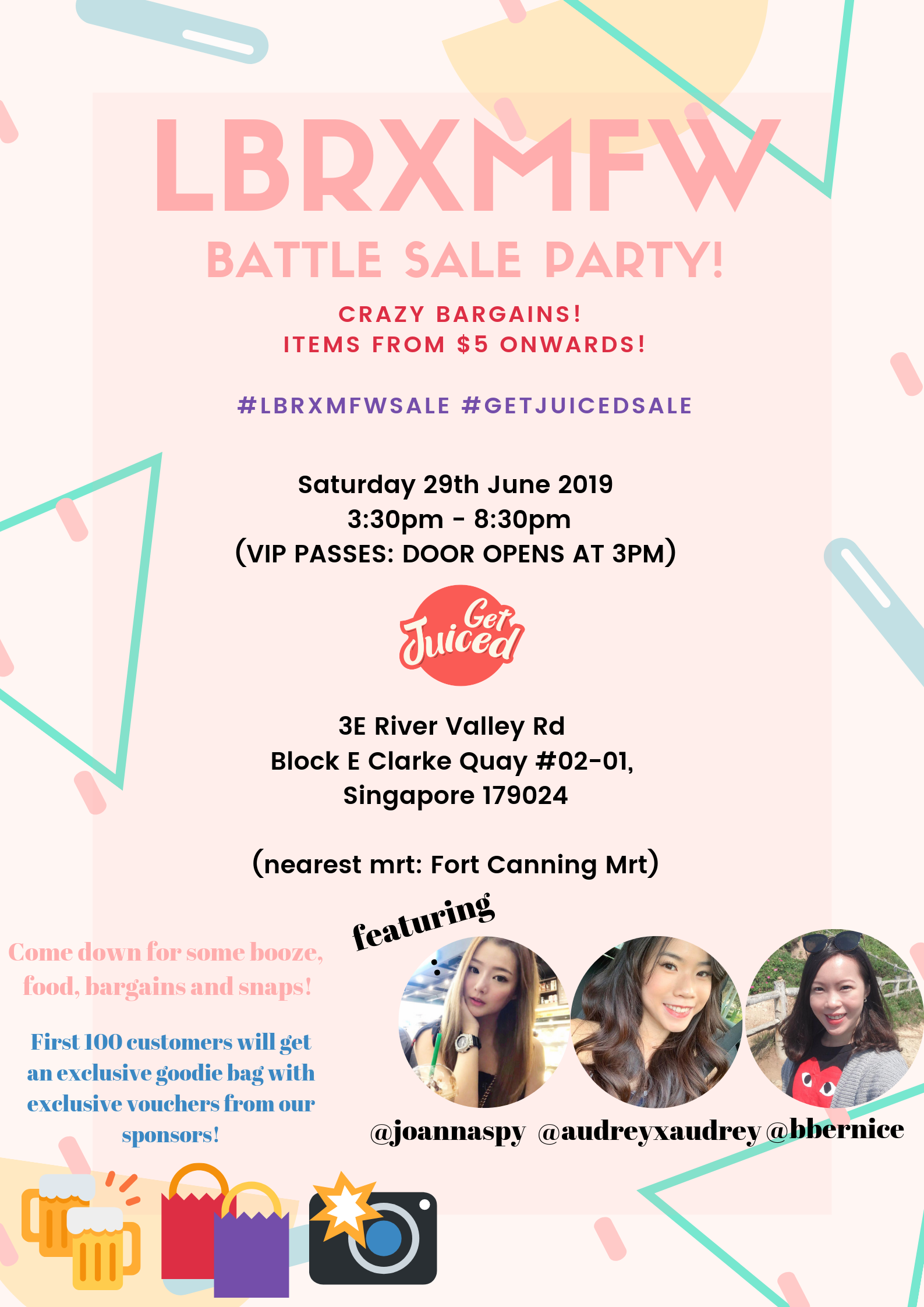 LBRXMFW BATTLE SALE PARTY | BIGGEST WAREHOUSE SALE!