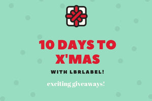 10 days to X'mas with LBRLABEL!