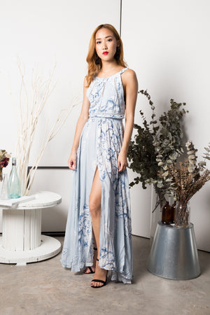 Julianna Printed Maxi Dress