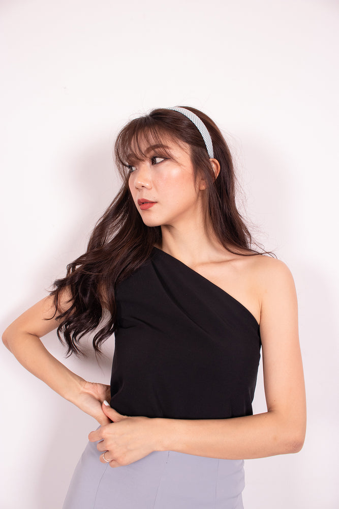 Load image into Gallery viewer, *PREMIUM* - Joceelia Toga Top in Black - SELF-MANUFACTURED BY LBRLABEL