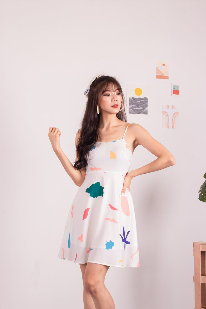 *PREMIUM* - Beleelia Printed Dress - Self-Manufactured by LBRLABEL