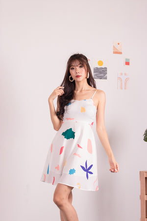 Load image into Gallery viewer, *PREMIUM* - Beleelia Printed Dress - Self-Manufactured by LBRLABEL