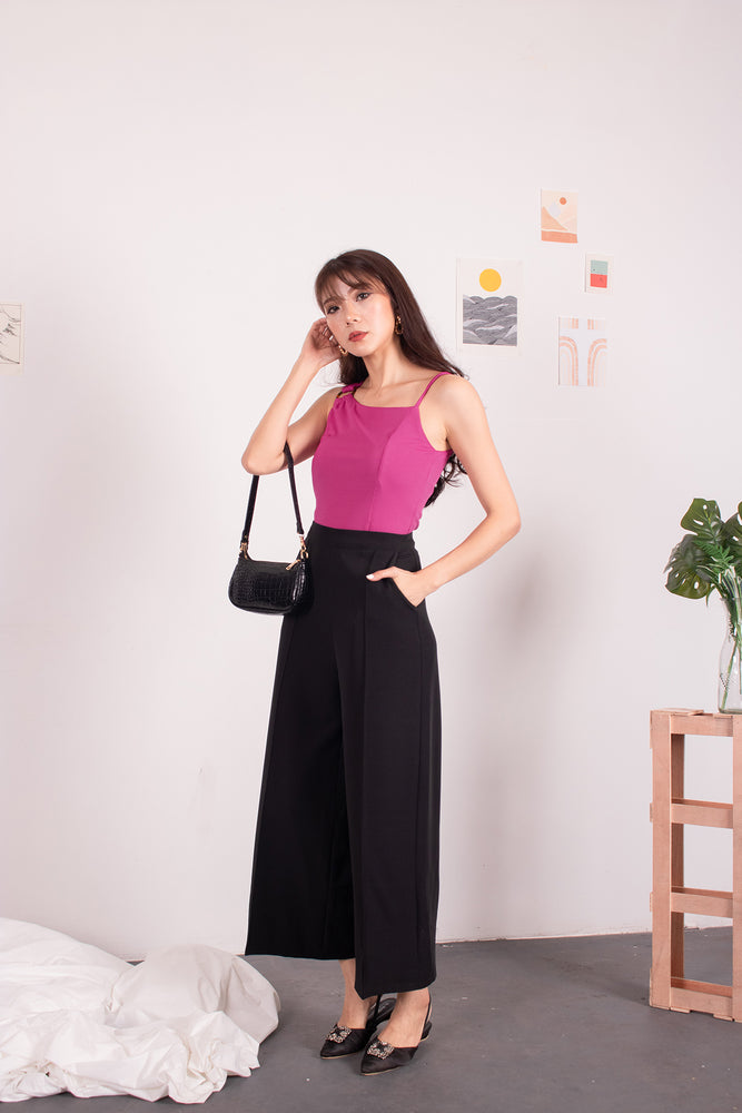 Load image into Gallery viewer, *PREMIUM* - Nancylia Toga Ring Top in Magenta - Self-Manufactured by LBRLABEL