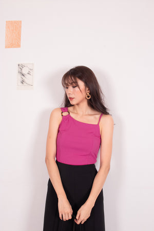 *PREMIUM* - Nancylia Toga Ring Top in Magenta - Self-Manufactured by LBRLABEL