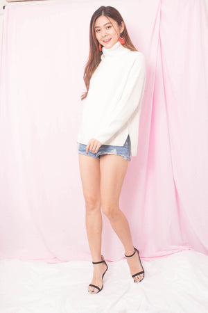 Elasa Knit Top in Cream