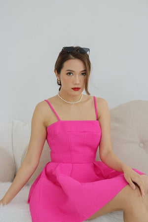 * LUXE * Allyssa Button Coat in Navy