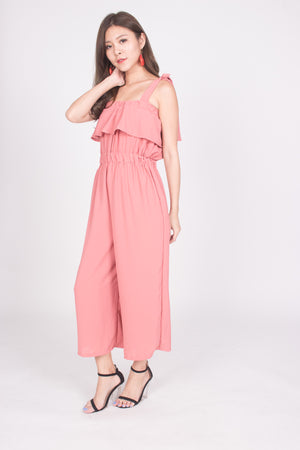 Yesmine Jumpsuit in Blush