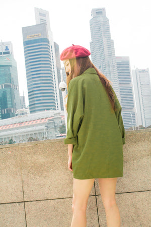 LUXE - Tesale Parka in Green