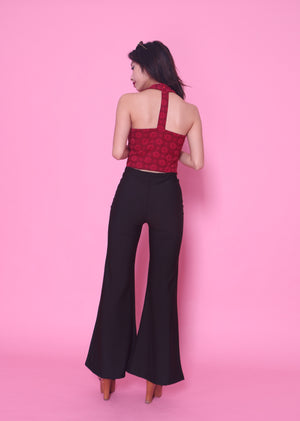 Clarissa Bell Pants in Black